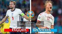 Inggris vs Denmark Semifinal EURO 2020